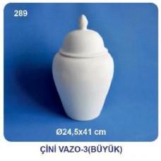 Çini Vazo 24,5x41cm (şah küp)