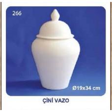 Çini Vazo 19x34cm (şah küp)
